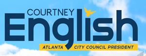 Courtney English for Atlanta City Council President